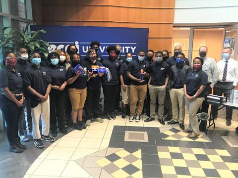 Hampton High School Students Design Low-Cost Emergency Ventilators at ECPI University Summer Institute