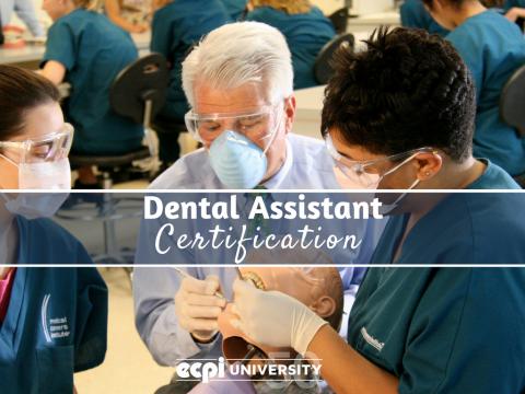 Dental Assistant Certification
