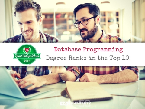 Database Programming Degree Ranks in the Top 10! ECPI University