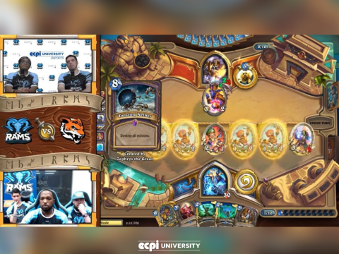 Hearthstone Match Lost to Rochester in Epic Battle, ECPI University Rams Prepare for their Next Game