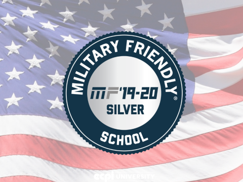 Military Friendly School 2019-2020 Awards ECPI University with Designation