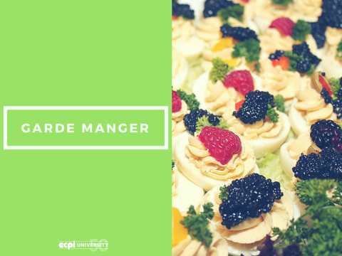 What is a Chef Garde Manger?