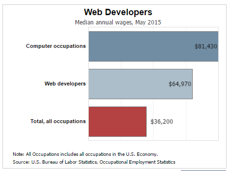 What S The Salary For A Web Developer
