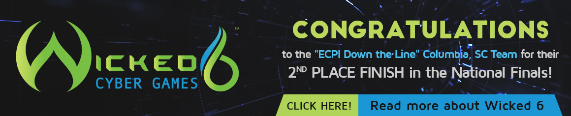 Congratulations to the ECPI Down the Line Columbia, SC team for their 2nd place finish in the National Finals!