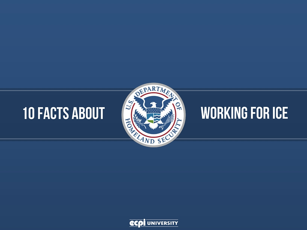 working for Immigration and Customs Enforcement (ICE)